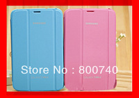 10 Colors Luxury Design PU Leather Case Cover for Samsung Galaxy Tab 3 8.0 Tablet T310 T311+1Protector+1Stylush Free Shipping