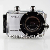 NEW 2014 5.0MP Full HD 1080P Underwater Action Sport CAM built-in WiFi DV Camcorder WDV5300 Waterproof camera Free shipping!!