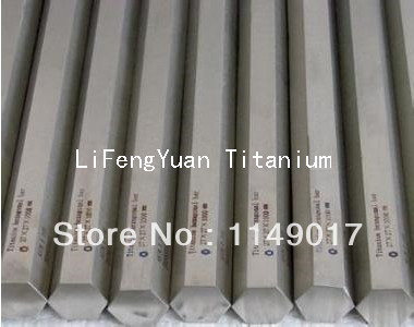 hexagonal titanium rods,titanium bars for industrial in stock , trail order is possible(China (Mainland))