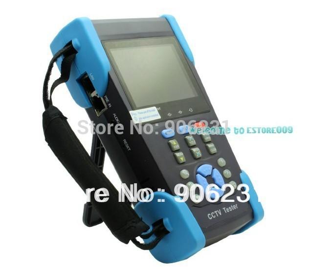 "Free shipping!!Free 4GB + HVT-2601 3.5"" TFT-LCD Camera CCTV POE Tester PTZ Controller Zoom DVR(China (Mainland))"