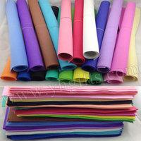 102PCS/LOT.1mm 17 color Foam sheets,Sponge paper,Punch foam,Foam crafts.Craft material,School projects.Foam flower.Wholesale