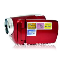 "Retail DV139 video digital camera Max.12MP 1.8"" TFT LCD LED Flash Light camcorder blue/Black/red/ silver SG Free shipping"
