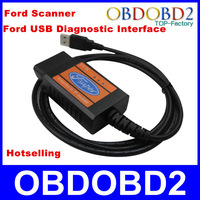 Highly Recommend Newest Ford Scanner F-Super Ford USB Cable Professional Ford Car Diagnostic Interface English Langage CNP Free