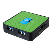High speed 5Gbps 4 port USB 3.0 HUB Plug and play support Win7/Vista/XP/MacOS10.2 685 Free Shipping