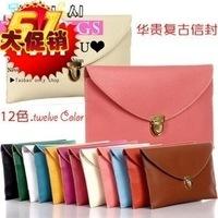 Restoring ancient ways the new 2014 summer candy multicolor handbag chain envelope hand bag aslant bag single shoulder bag
