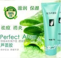 10pcs/lot freeshipping  aloe gel 40g whitening moisturizing acne freckle cream printed,keep Moisture,Remove scar