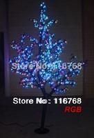 1.6M High Quality RGB Outdoor Garden Lighting  LED Lighted Night Cherry Tree Lights
