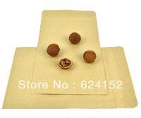 Promotion kraft paper zipper food bag with Aluminum foil laminated 13x18.5cm 0.28mm thick  tea cookies nuts bag  100pcs/lot