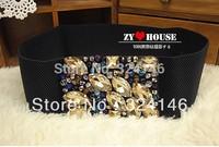 Handmade decorative Ms. luxury girdle fashion women belt wholesale Free shipping