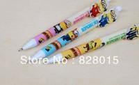 Wholesale Pencils 60pcs/lot Despicable Me Minions Automatic Pencils Cool Stationery for Children