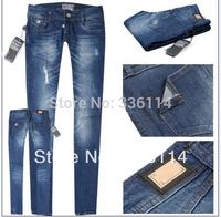 Free shipping 3A quality hotsale brand cheap Classic skinny pants brand soft premium women's long jeans