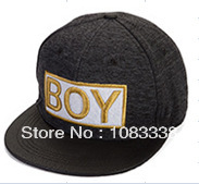 GOLD letter boy Snapback hats Cheap Brand Designer mens womens baseball caps hiphop cap Free Shipping(China (Mainland))