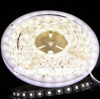 LED strip light ribbon single white color 5 meters 270 pcs SMD 3528 waterproof   DC 12V