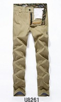 2014 Brit Mens Casual Pants Wholesale Slim Fit Trousers Men's Harem Leisure Long Pant Free Shipping
