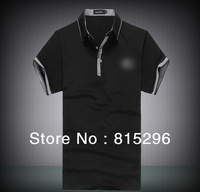 2014 Fashion New short Sleeve brand Shirts Mens,high Quality spring Summer polo Casual Shirts, Drop&Free Shipping