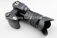 The new 16 million digital SLR camera D3200,3.0 TFT screen,+21 times the telephoto lens, wide-angle lens+LED light,free shipping