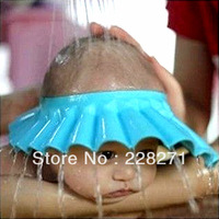 Free shipping: Soft Baby Kids Children Shampoo Bath Shower Cap Hat New wholesale,price is$2.0/pc,MOQ5pcs