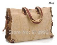 Cotton canvas shoulder bag retro bag hand bag 2013 Korean version of casual men bag new wave of summer