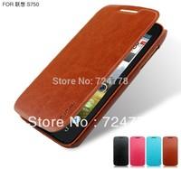 Original Pudini Lenovo S750 Case PU Leather Phone Case And Slim Smart Cover For Lenovo S750 Flip Leather Case