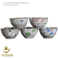 Hot selling!5 Bowls/lot!!Ceramic Bowl china bowl Chinese style Dish,Kitchenware