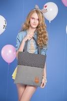 2014 Cotton and linen blend trend of fashionable casual women's handbag hemp canvas handbags