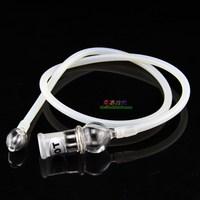Electronic tobacco vaporizer evaporator glass double slider hypospadias