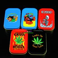Rasta reggae Small moisturizing box tobacco box portable style