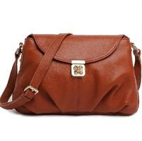 Guaranteed 100% Genuine leather handbags women messenger bags shoulder bags buckle women leather handbags casual bag 2015 NEW