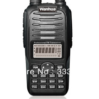 Free Shipping WH558 dual band two way radio vhf/uhf dual band/radio set with128Ch,5W,dual display/standby,amateur/portable/ham