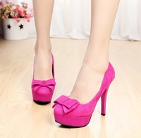 Ultra high heels single shoes female thin heels platform shoes fashion high-heeled shoes sexy women's high-heeled shoes
