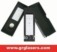 Free shipping 1-5mw RF laser pointer filp pen PPT wireless presenter page turner  RFS003
