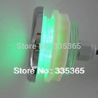 free shipping 4pcs waterproof  LED chromotherapy light / RGB underwater led bath light 1pc light controller 1pc transformer