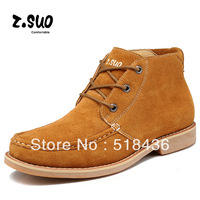 Free Shipping Fashion Casual Brand Winter Suede Boots, Warm Shoes, Athletic Outdoor Platform Sneakers, Motorcycle boots Men
