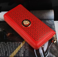 New Arrival Lovely Long Woman Purse Bag High Quality PU Leather Female Standard Leopard Head Wallet  WP0077