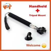 Handheld Extendable Monopod with Tripod Mount Adapter for GoPro Telescopic Pole