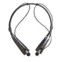 New HBS 830 Hanging Neck Stereo Bass Bluetooth 4.0+ Loud Speaker Earphone Black
