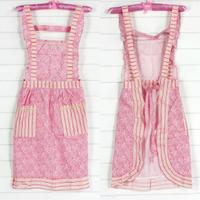 Derlook 100% cotton princess dress double layer cotton cloth nine piece nine