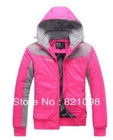 free shipping 2014 brand women's sports jacket , women sportswear jackets suit seasons authentic track suit hoodies set