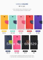 2014 Original MERCURY Brand Leather Flip Case For iPhone 5g 5s,MOQ 1PCS Free Shipping