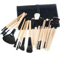 24PCS /Set Cosmetic Professional Makeup Brush Brusher Wood  Make-up Toiletry  Eyeshadow  Kit  Make Up Set