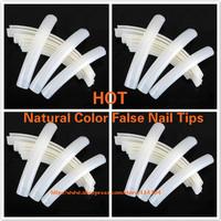 wholesale French Art Tips long false nail Clear/white/nature Saloon artificial Long Display Nail 100pcs/bag free shipping