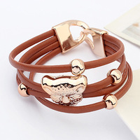 2013 wrist length belt candy color steller's multi-layer bracelet female personality accessories