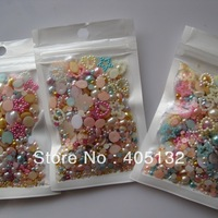 #87 mix bag 20g/bag All Mix Pearls Nail Art Decoration Nail Art Mix Decoration Super Deal