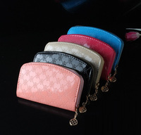 Promotioal New Arrival PU Leather Cheap Femaleb Cute Standard Nice Quality Wallet Long Woman Purse Money Bag WP0094