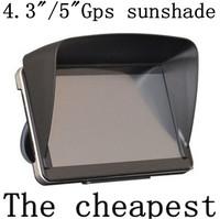 """FREE drop SHIPPING 2pcs/lot 4.3""""/5"""" 4.3/5 inch GPS sunshade sunshine shield navigator partner Sun shade&sun cat"""