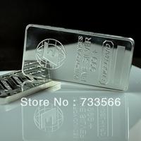Non Magnetic Bullion Bar, Silver Plated Zinc Alloy 10 Troy Ounce Silver Clad Engelhard Bars