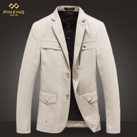 Free shipping 2014 men's fashion british style men's leisure suits men blazers autumn and winter outerwear men