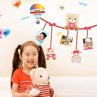 - child real photos of the wall large cartoon wall stickers