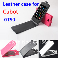 Free shipping Cubot GT90 Case, New High Quality PU Filp Leather Cover Case for GT90 Case