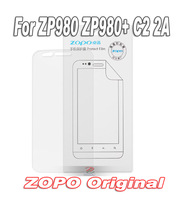 2pcs/lot ZOPO ZP980, ZP980+, C2, 2A screen protector, 980+ film screen guard, 100% original from the factory, freeshipping